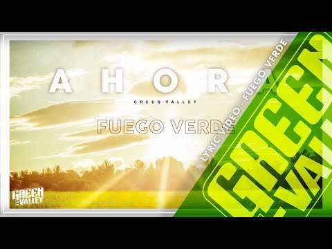 Letra Fuego verde Green Valley