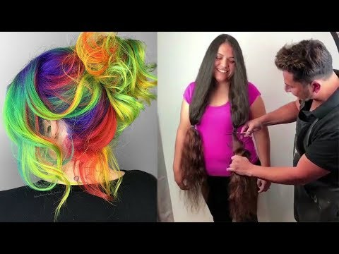 Top Amazing Hairstyles Compilation  Viral Hair Videos on Instagram 2018
