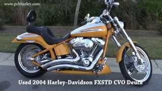 6. Used 2004 Harley Davidson FXSTDSE CVO Deuce