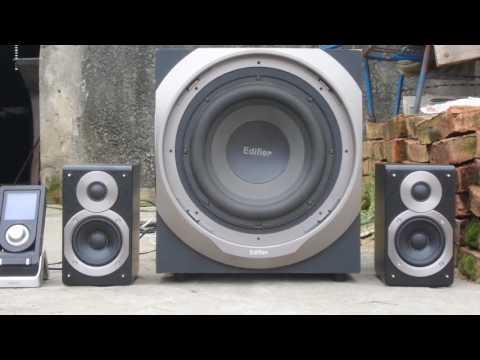 My edifier s550 test electro 2.1 (видео)