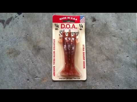 D.O.A. Shrimp Saltwater Or Freshwater Fishing Lure … Review