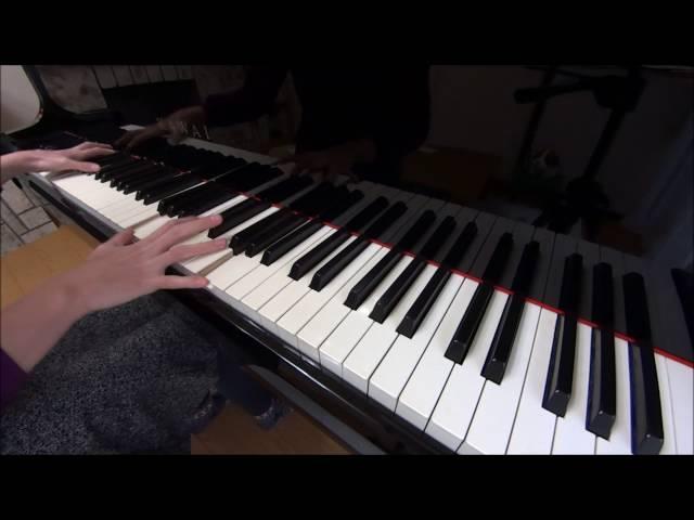 (練習1カ月目)難易度超高い!ショパンの英雄ポロネーズをピアノで弾いてみた♪ Chopin Polonaise No.6 Op.53