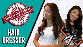 Video HIRED OR FIRED: HAIRDRESSER FOR A DAY (Ft. Mongabong + GIVEAWAY!) MP3, 3GP, MP4, WEBM, AVI, FLV September 2018