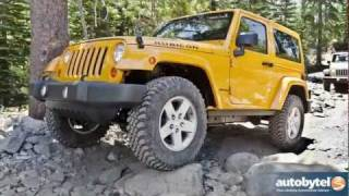 2012 Jeep Wrangler Test Drive&SUV Review