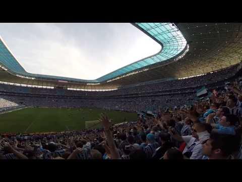 Hino do Rio Grande do Sul na Geral do Grêmio - Geral do Grêmio - Grêmio