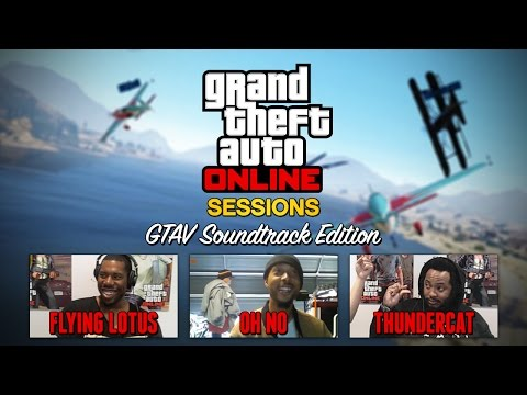 Oh - GTAV's Flying Lotus of FlyLo FM is joined by fellow soundtrack artists Thundercat and Oh No for a special edition of GTA Online Sessions. Flying Lotus reveals here for the first time that...