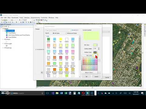 ArcMap GIS Tutorial 03-01, Pages 96-101