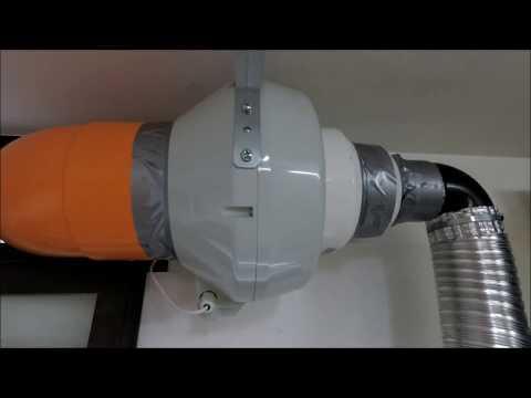 Sistema di aspirazione fumi di saldatura mig mma fai da te (welding fume extraction system homemade)