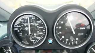 3. BMW 2004 K1200GT - Zero to 100 mph to zero