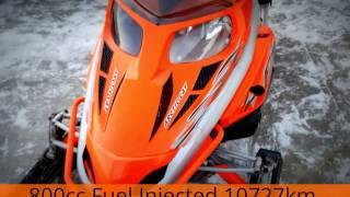 5. 2007 Arctic Cat F8 SnowPro 800cc