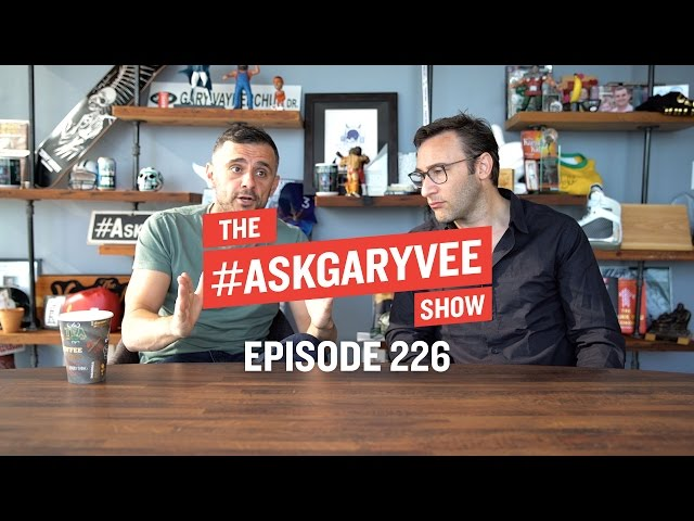 #AskGaryVee Search Engine - Episode 226: Simon Sinek, Your Why vs the Company's Why & Always Being Yourself