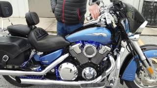 10. 2008 Honda Vtx1800 Walk around