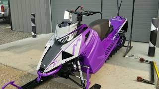 3. Too Much Purple!? 2019 Mountain Cat Arctic Cat FIRST START