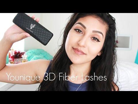 fiber - Younique 3D Fiber Lashes Mascara $29: http://www.caroltebay.com/ http://www.madlybeautiful.com/ http://www.facebook.com/PictureMePerfect http://twitter/carol...