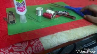 Simple saree kuchu. ಸೀರೆಗೆಸುಲಭವಾಗಿ ಕುಚ್ಚುಕಟೋದು ಹೇಗೆ ಎಂದು ನೋಡೊಣ. Rani Swayam kalike.