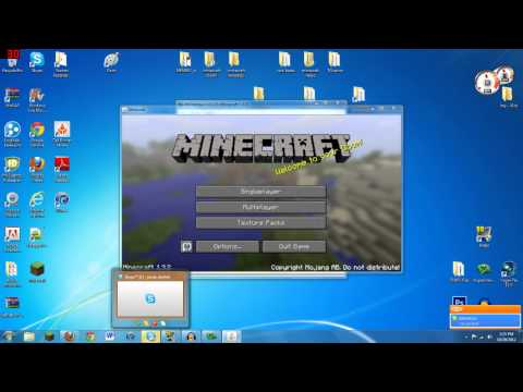 Minecraft 1.7.5 | How To Install HD Texture Packs- Sphax Pure BDCraft (MC-Patcher)