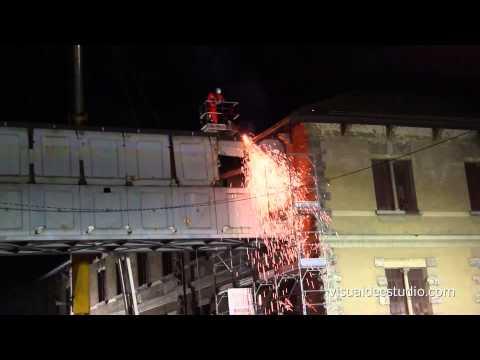 Demolizione ponte Valle Olona – Varese