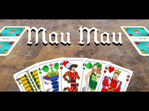 Video of Mau Mau - card game Free