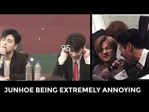 10 MINUTES OF iKON JUNHOE BEING ANNOYING