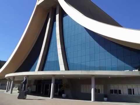 Tenere 250.Joinville. Santuário de Santa Paulina em Nova Trento S.C.