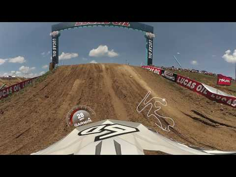 Garmin VIRB 360: High Point 1st Moto with Pro Jeremy Martin (видео)