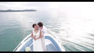 Koh Mak (Trad) Thailand  city pictures gallery : Beach Wedding Thailand C+J at Peter Pan Resort Koh Kood ,Trad - Thailand