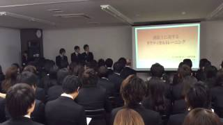 we are IKEN2015 進級・卒業発表会が行われました!!