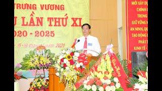 Đại hội đại biểu Đảng bộ Phường Trưng Vương lần thứ XI, nhiệm kỳ 2020-2025