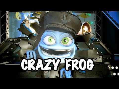 Crazy Frog - Safety Dance (видео)