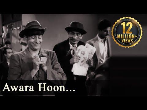 Download Awara - Title Song - Awara Hoon - Mukesh HD Mp4 3GP Video and MP3