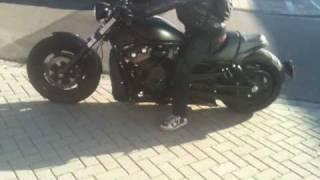 9. Harley Davidson VRSCDX nightrod customized.