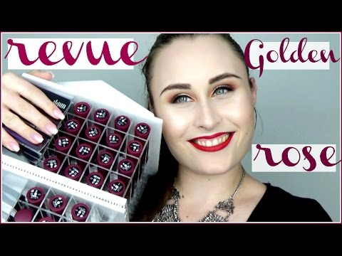 Video ♡ ENOORME revue Golden Rose (+ SWATCHES !!) ♡ download in MP3, 3GP, MP4, WEBM, AVI, FLV January 2017
