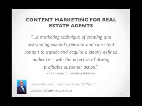 A Content Marketing Guide for Real Estate Agents