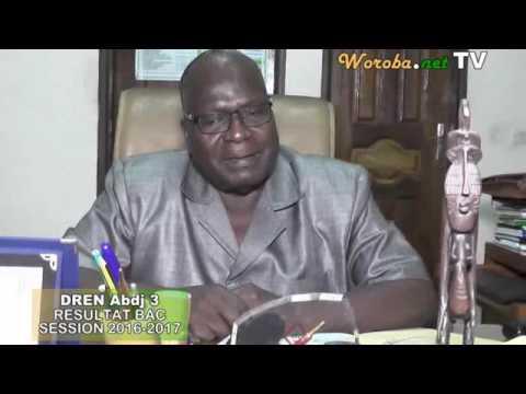 Interview du DREN d'Abidjan 3 Monsieur Diomandé sandé Félix