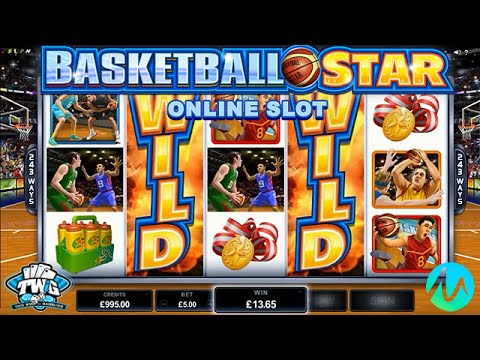 Basketball Star Online Slot from Microgaming 🏀