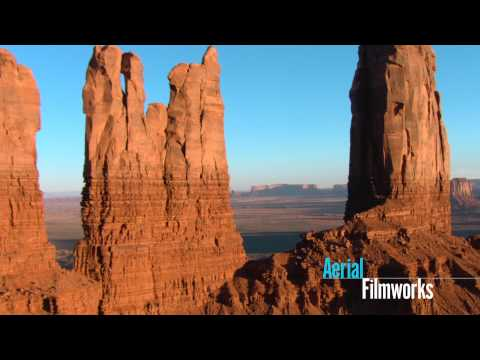 Aerial Shots - www.aerialfilmworks.com Cineflex HD aerial footage from Monument Valley, Canyonlands and Arches National Park. Our in-house team arranged the flight plan and...