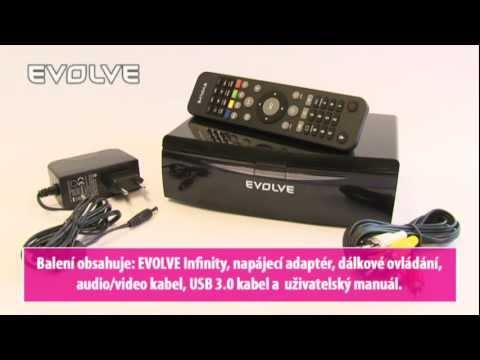 EVOLVE Infinity CZ - 3D multimediální FullHD přehrávač