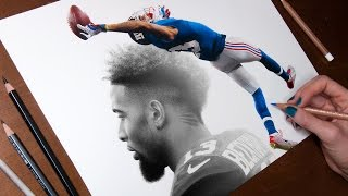 Drawing Odell Beckham Jr.