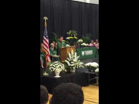 8thGrader Perfectly Impersonates Presidential Candidates in Hilarious Graduation