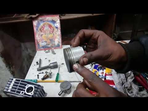 Bajaj Pulsar 150,180 half engine work full details