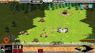 4vs4 Hà Nội, vs Liên Quân, 29/8/2015, - C4T2, game đế chế, clip aoe, chim sẻ đi nắng, aoe 2015