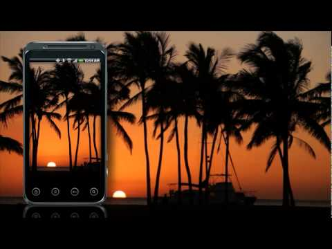 Video of Beach Live Wallpaper - Sunset
