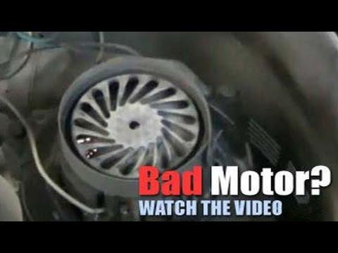 Bad Central Vacuum Motors - Replace and Repair