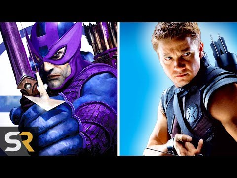 10 Superheroes Marvel Completely Changed For Their Movies (видео)