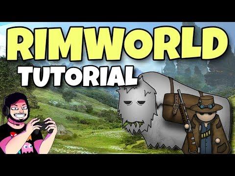 Rimworld 1.0 | Tutorial Completo | Comida e Humor