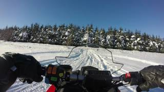 7. 2015 Polaris Switchback Pro-S 800 Top Speed