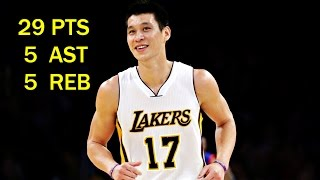 Jeremy Lin林書豪│2015 03 22 Lakers vs 76ers 湖人vs76人