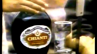 """Pass it around."" Italian Swiss Colony Chianti wine commercial featuring a beach party. Spot aired in September 1970."