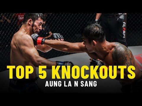 Aung La N Sang's Top 5 Knockouts