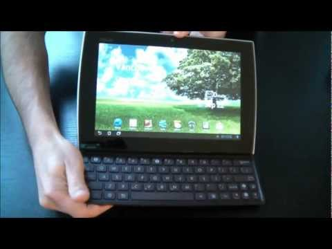 Eee Pad Slider SL101 Tablet Hands-on Review